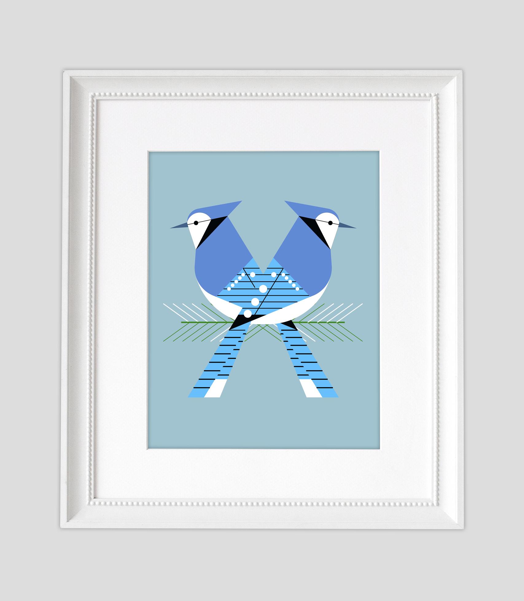 Bluejay Love Framed2.jpg