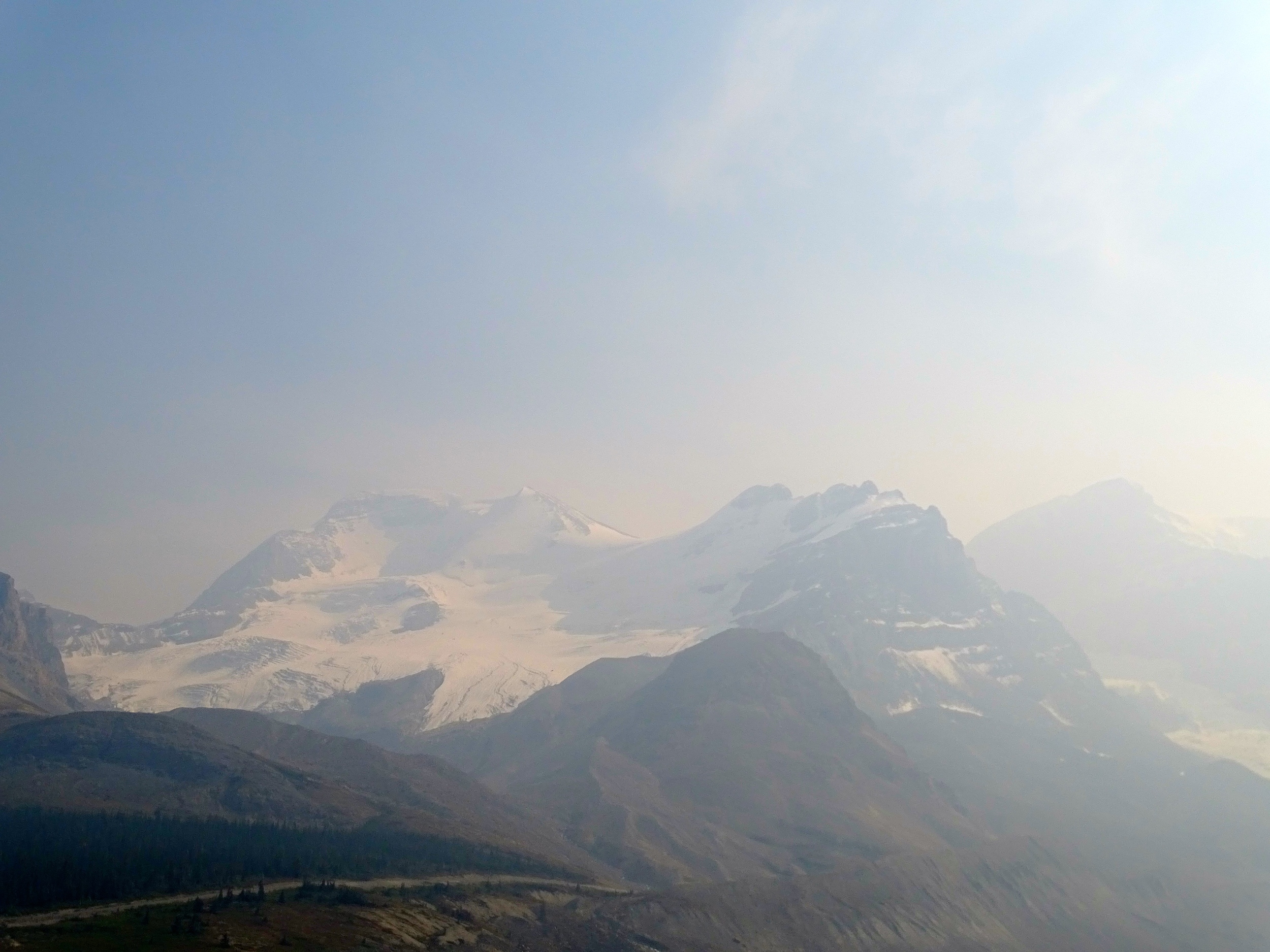 Columbia Icefields were...WOW!