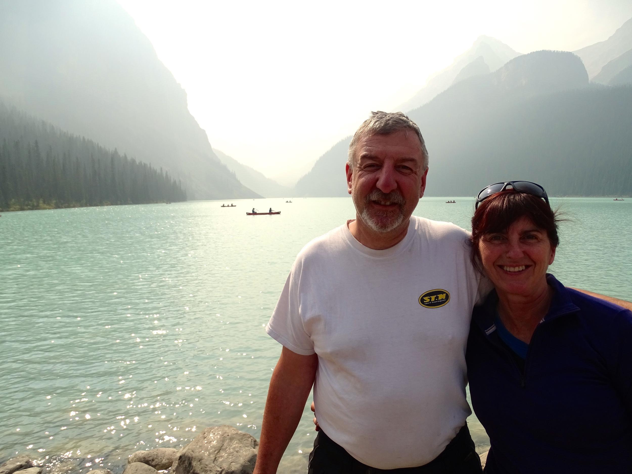 Lake Louise was...