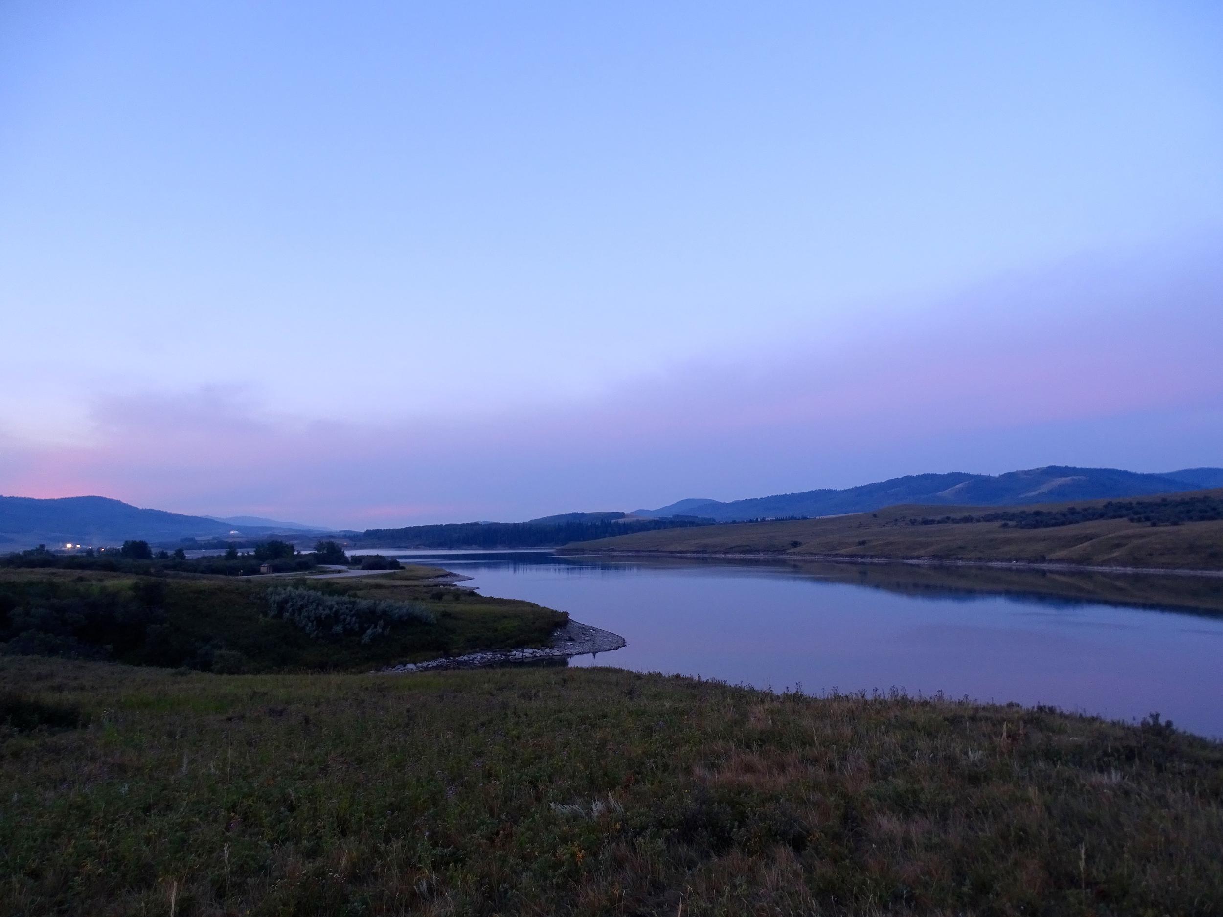 Sunrise on Chain Lake