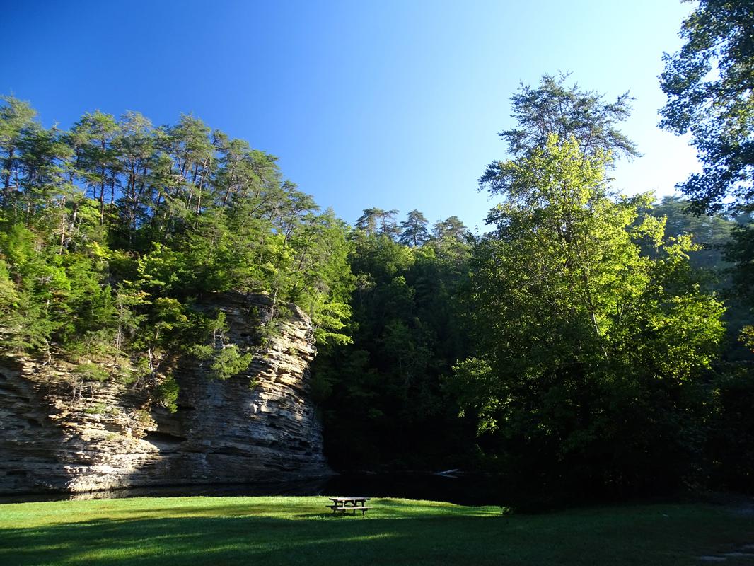 Falls Creek Falls State Campground