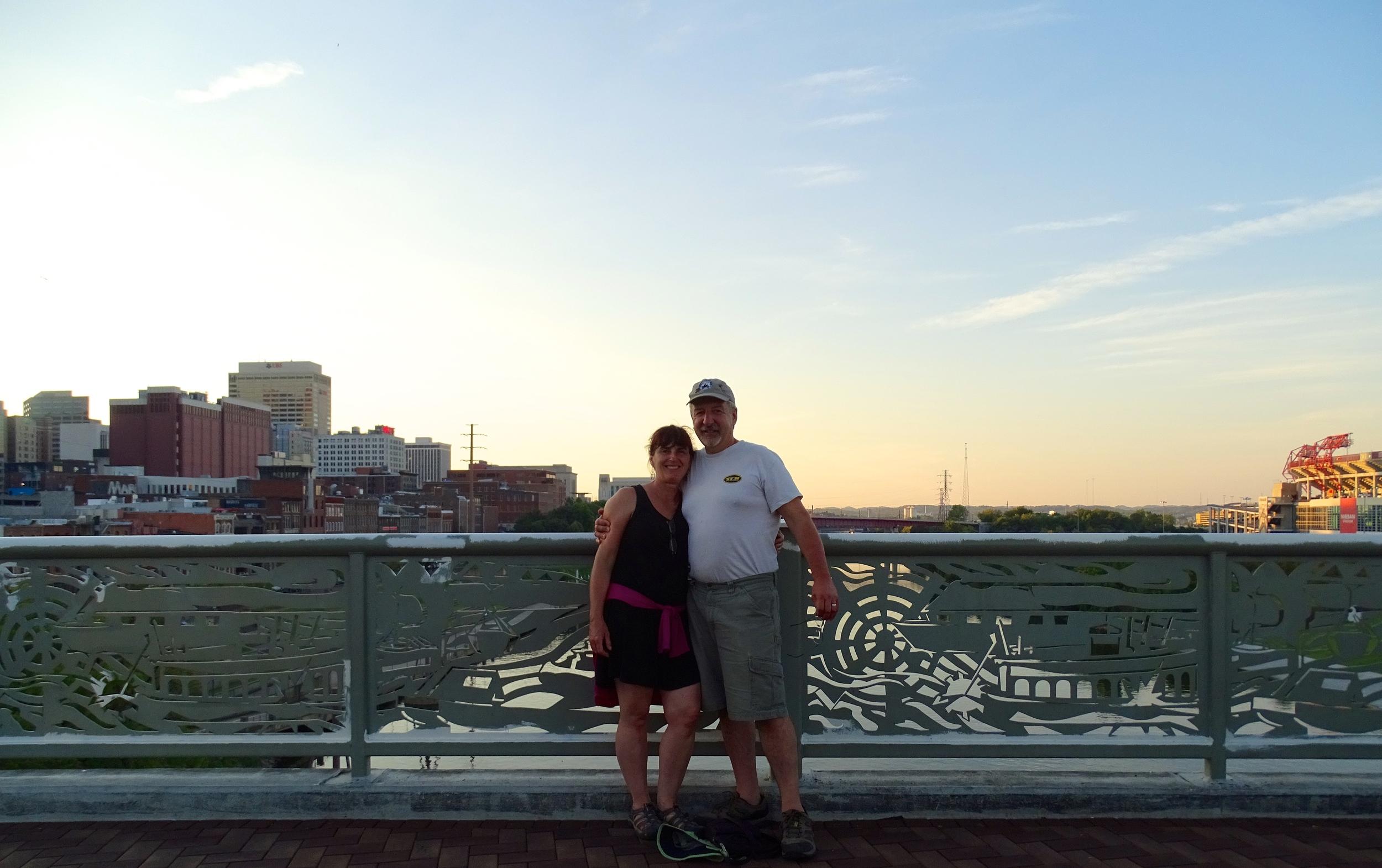 Setting Sun, Nashville Day Nearly Done