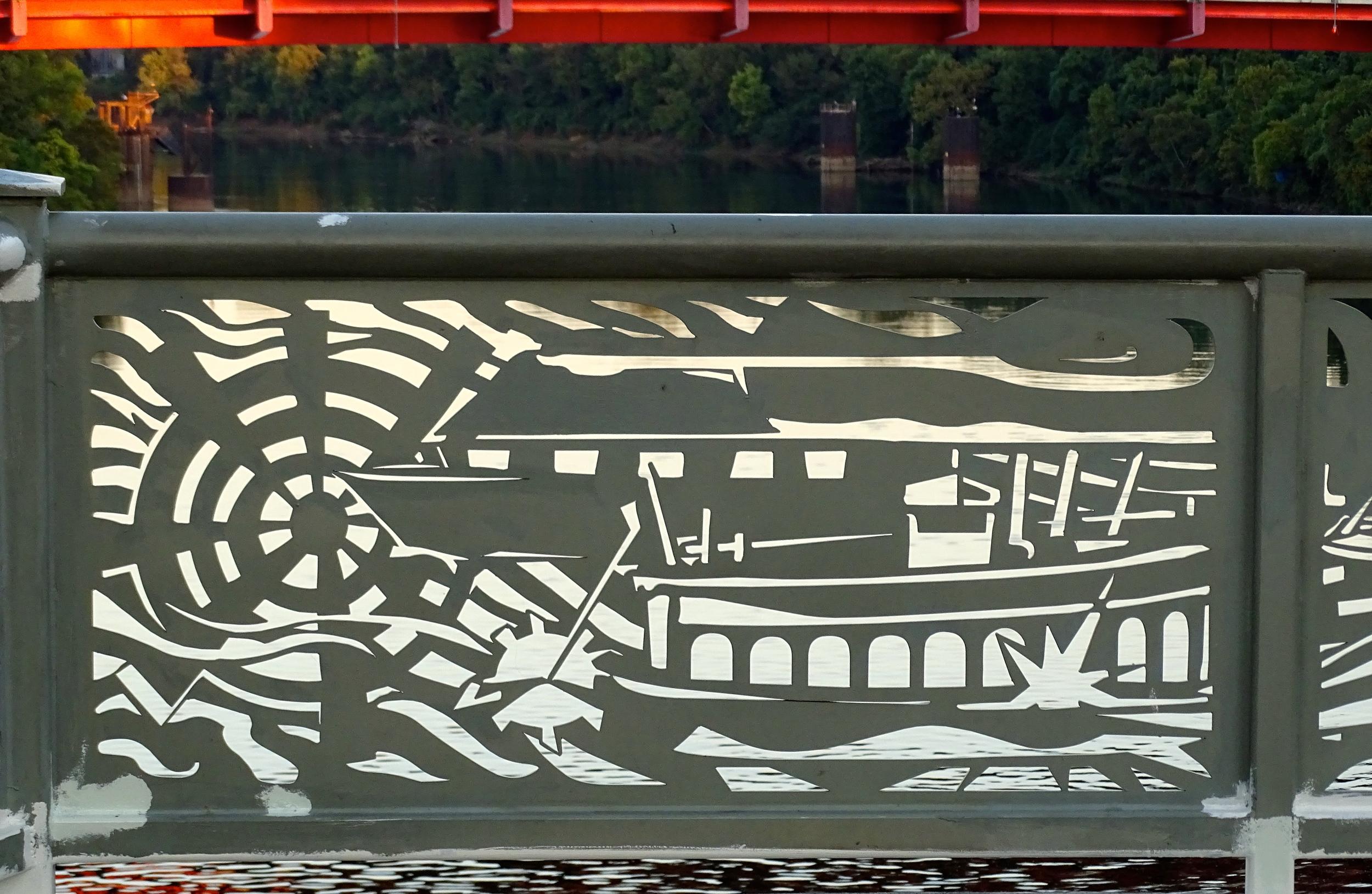Quality Metalwork on the Bridge
