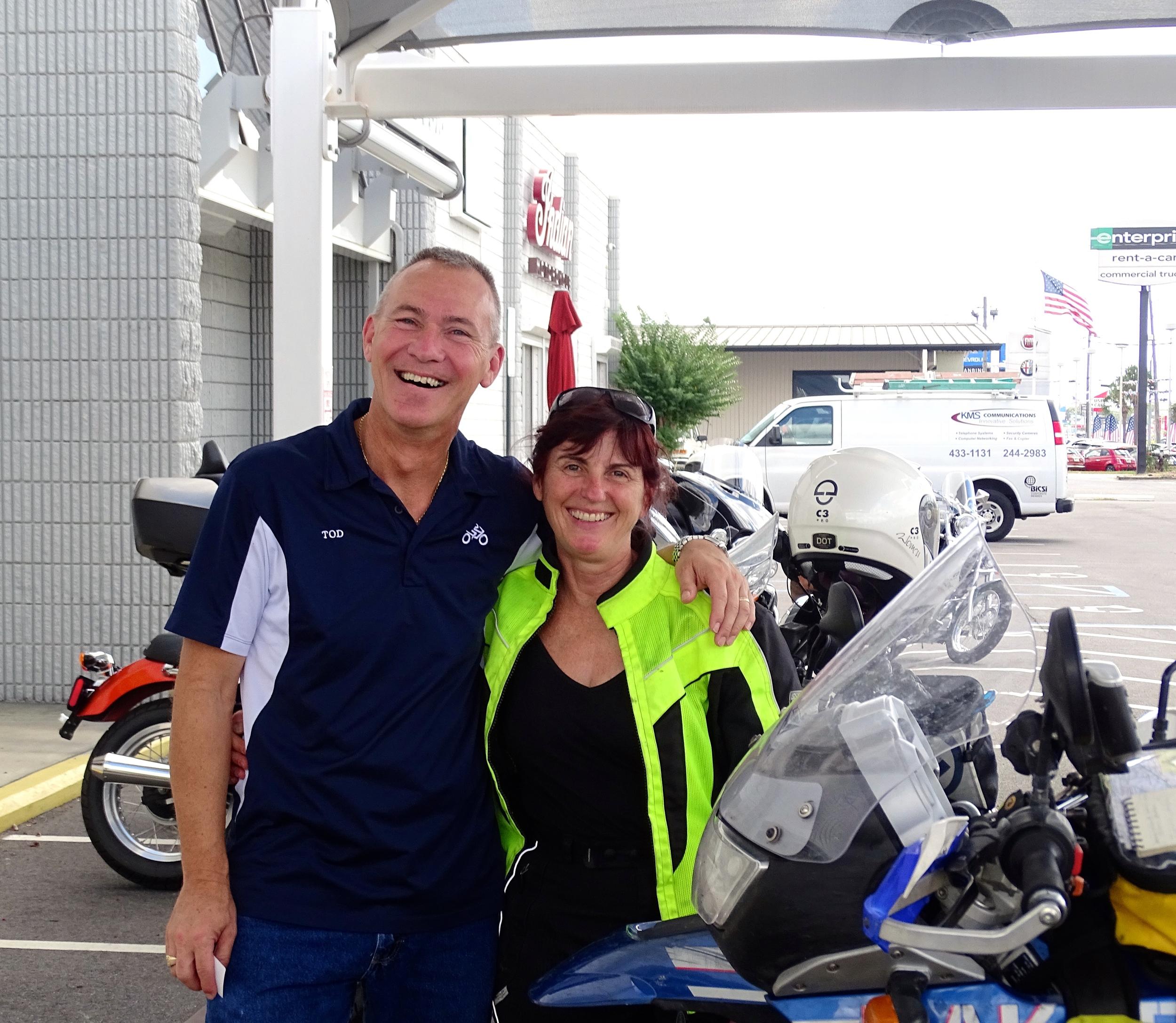 Tod at BMW in Pensacola, FL