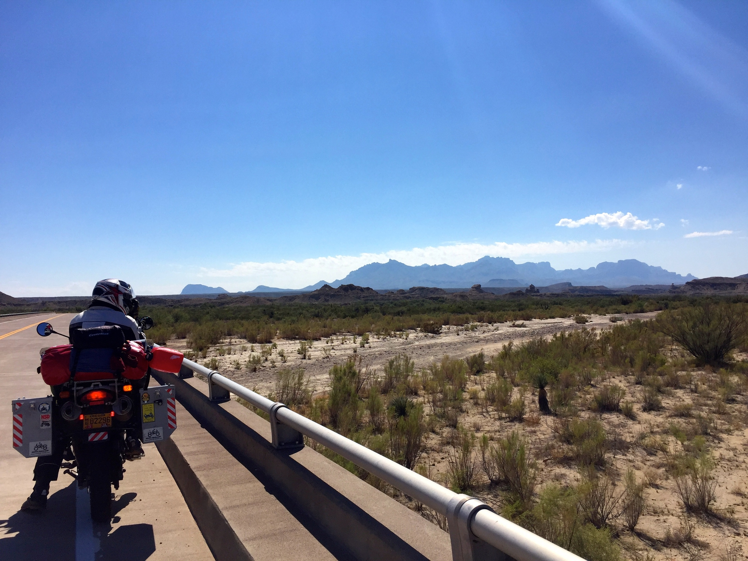 Heading in to Big Bend.