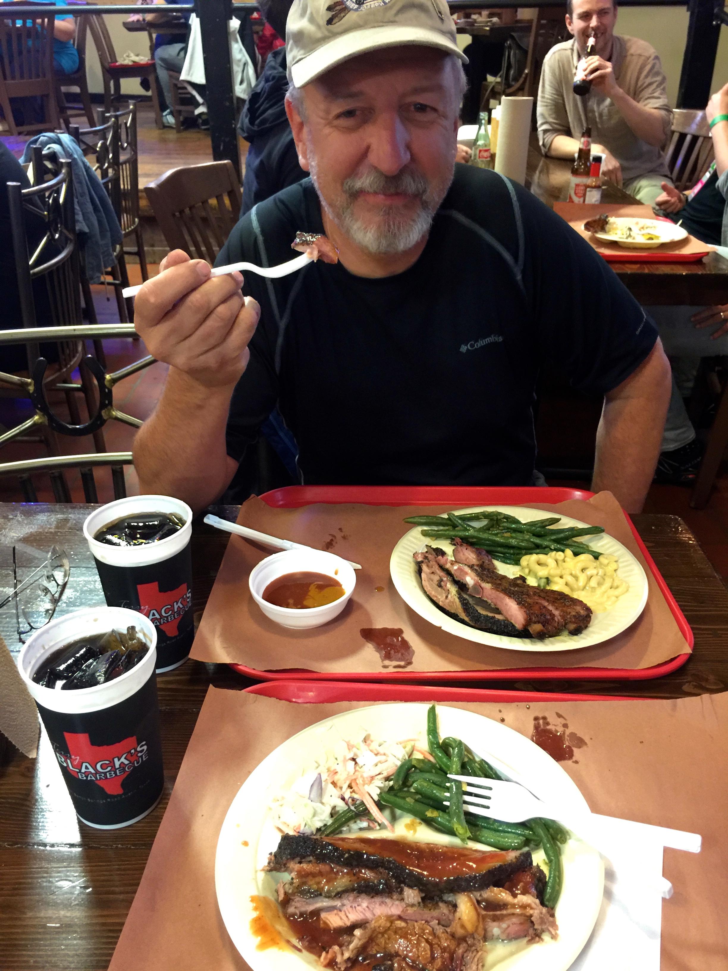 Terry Black's BBQ...YUM!