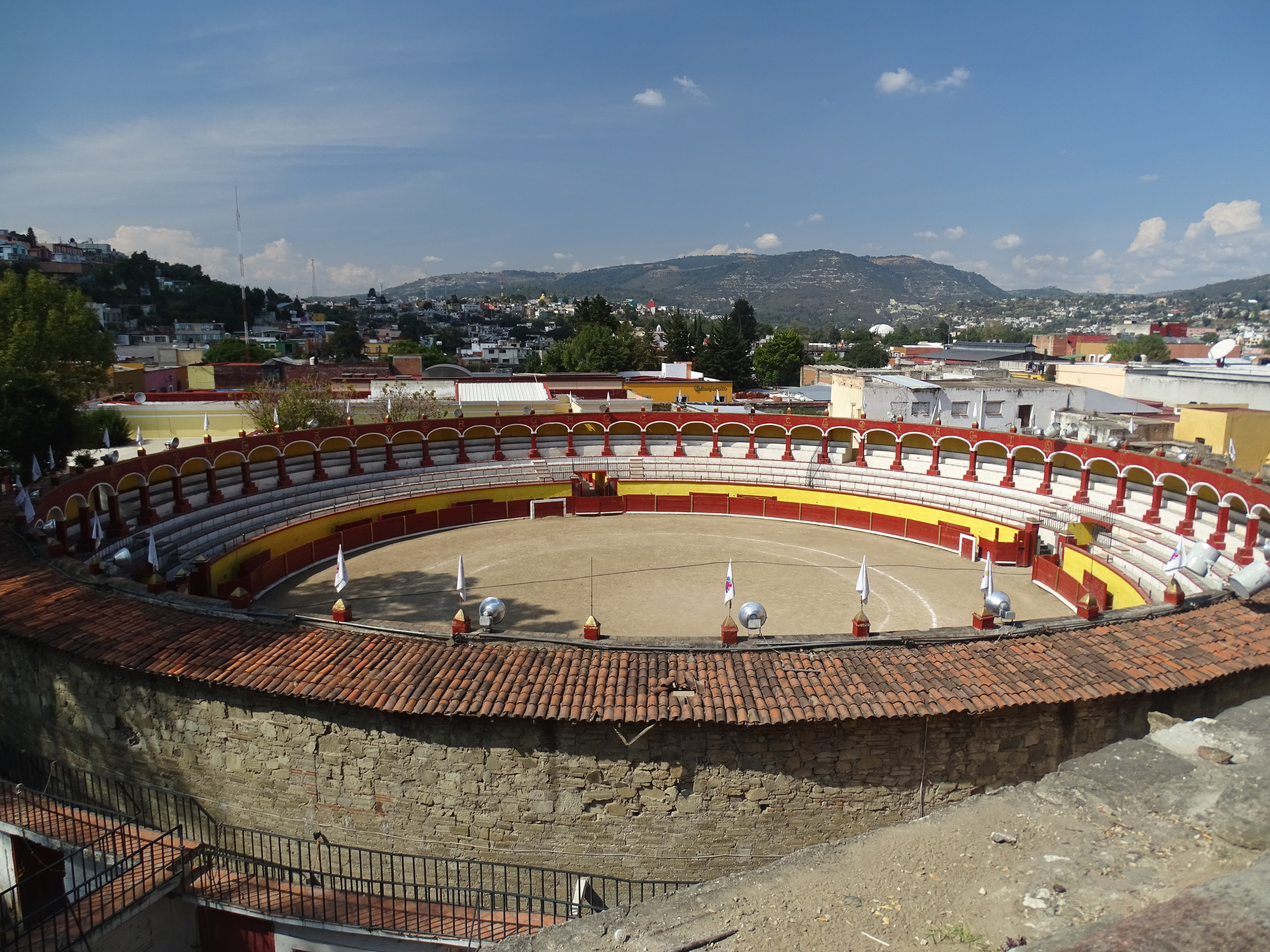 Oldest active bullring in Mexico!