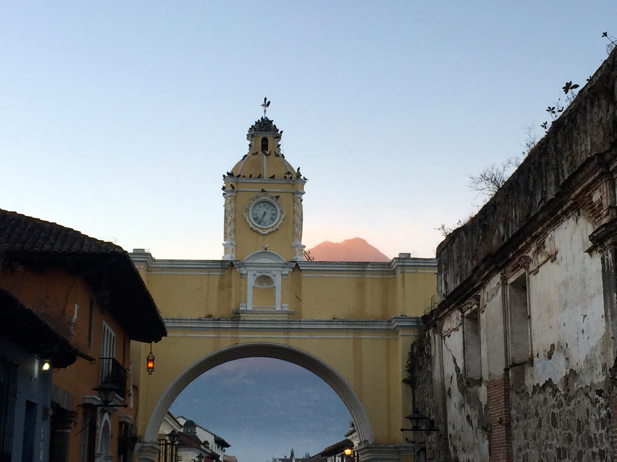 First morning in Antigua...ahhhh...beautiful...