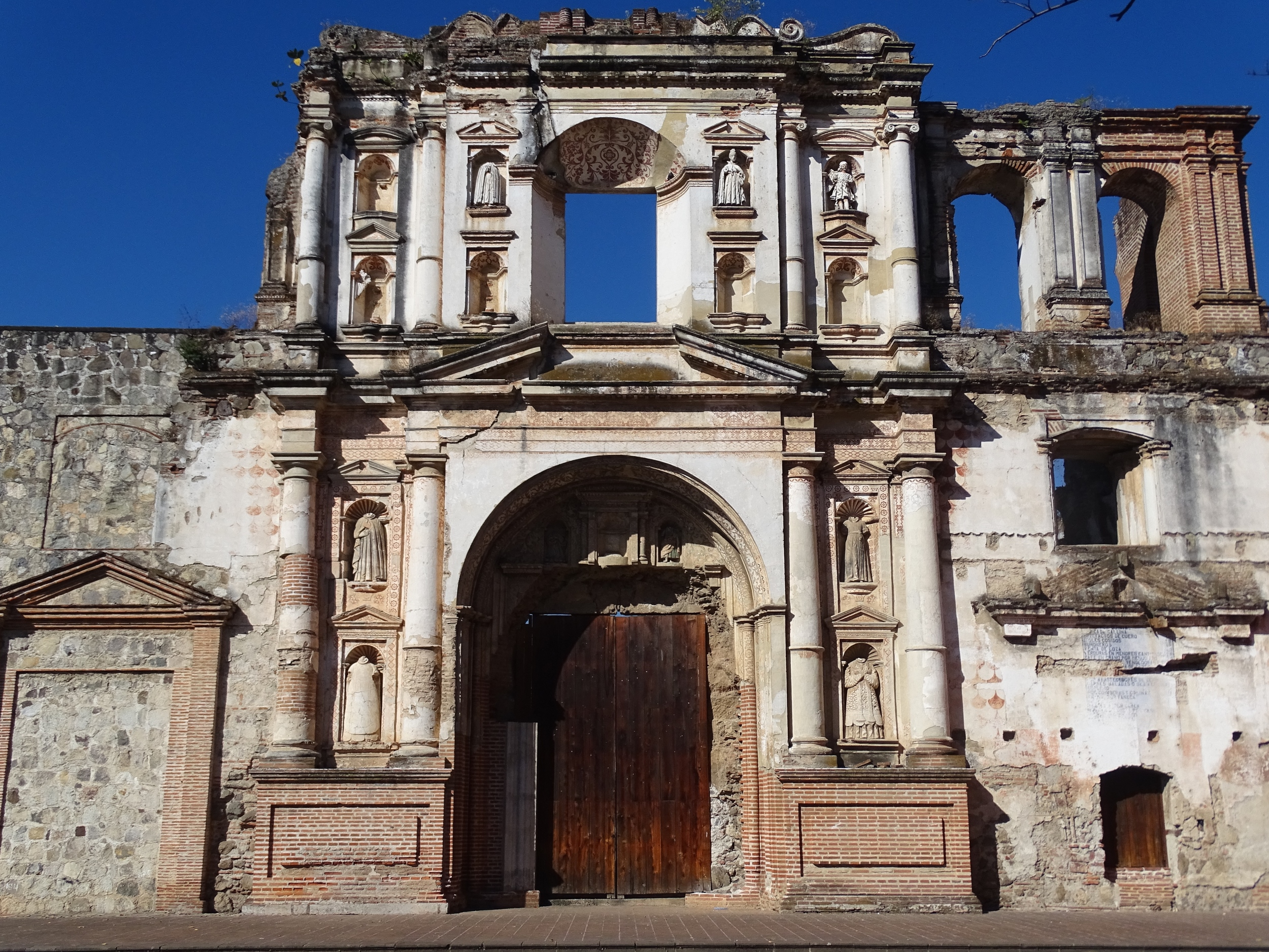 Antigua is a UNESCO World Heritage site so...