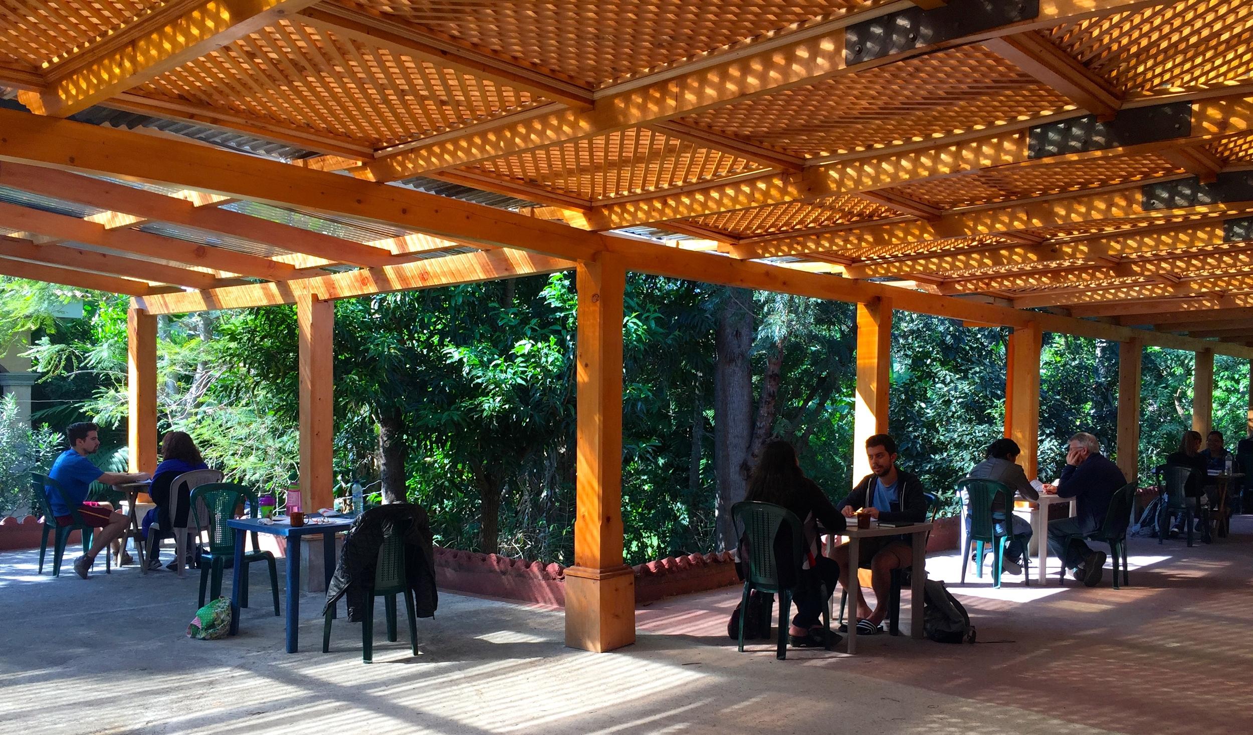 Spanish School in El Jardin (The Garden)