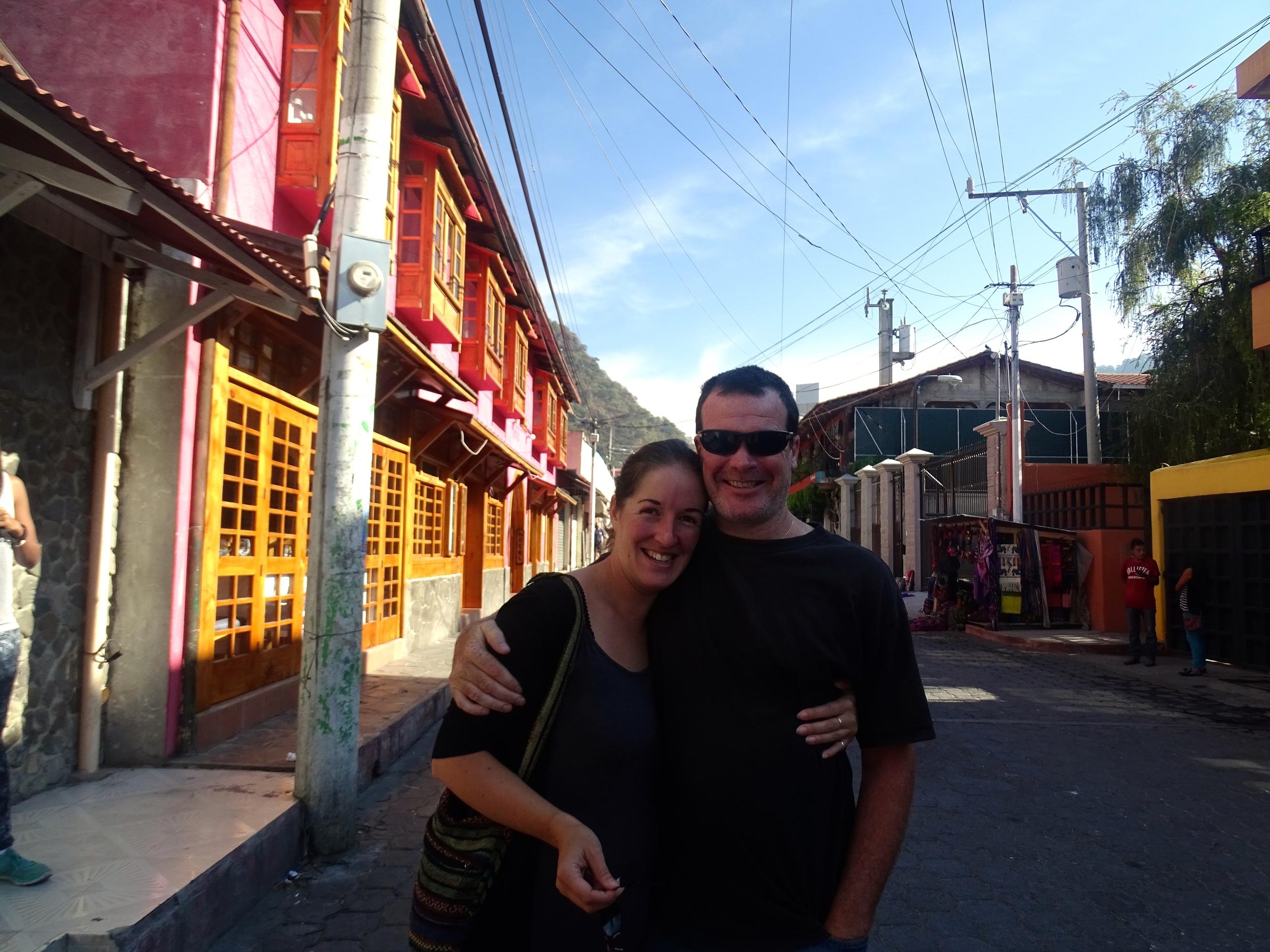 Caroline (England) & Evan (Canada)