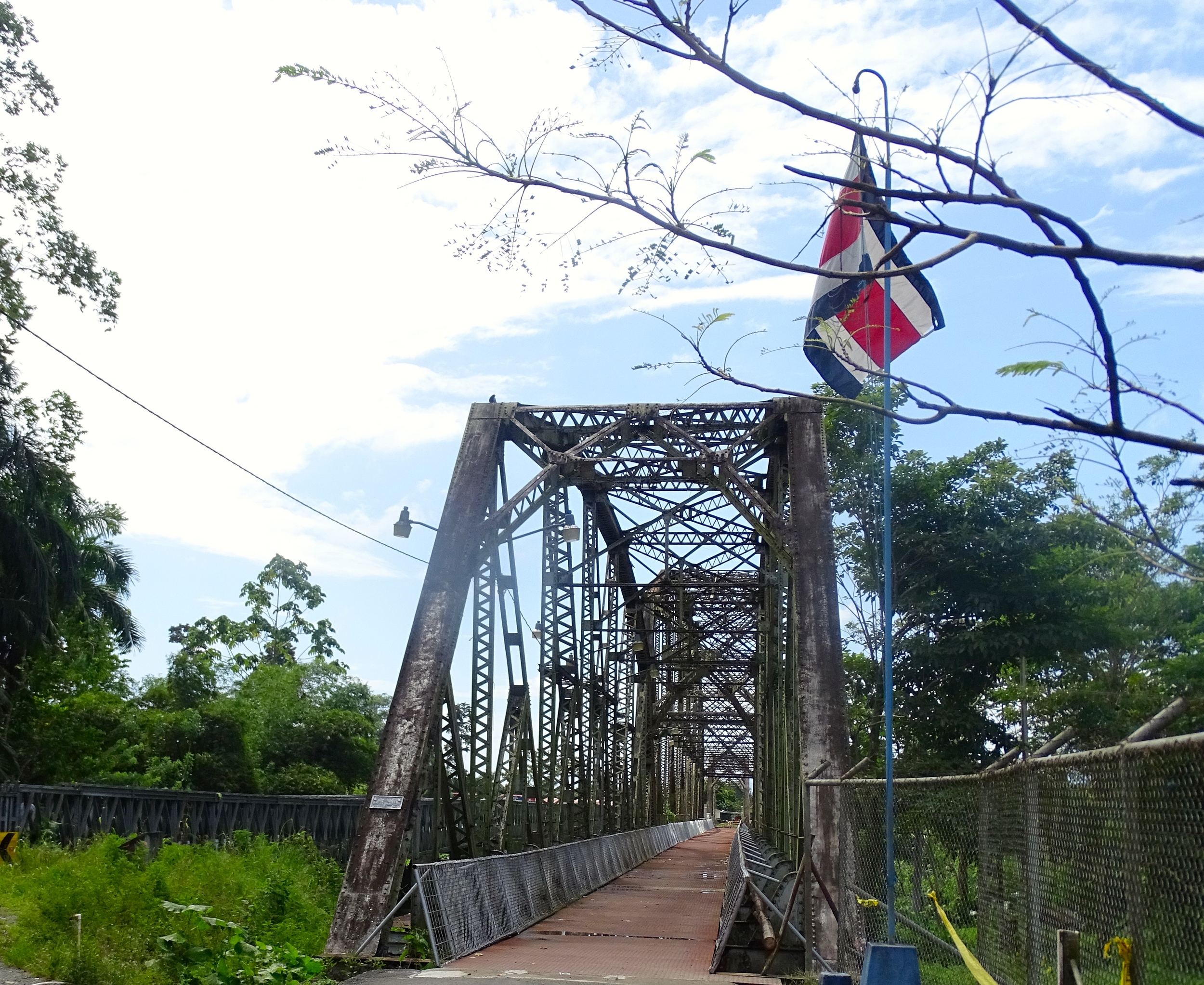 Old bridge from Costa Rica to Panama.