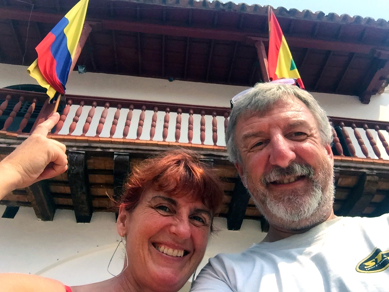 We're in Colombia!