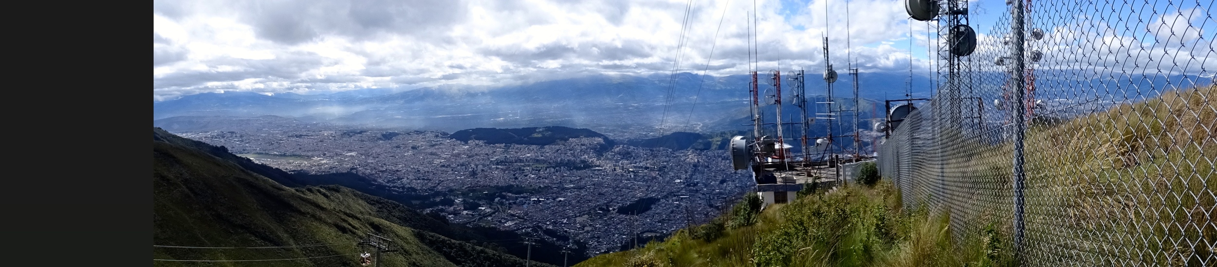 More magnificent views of Quito.