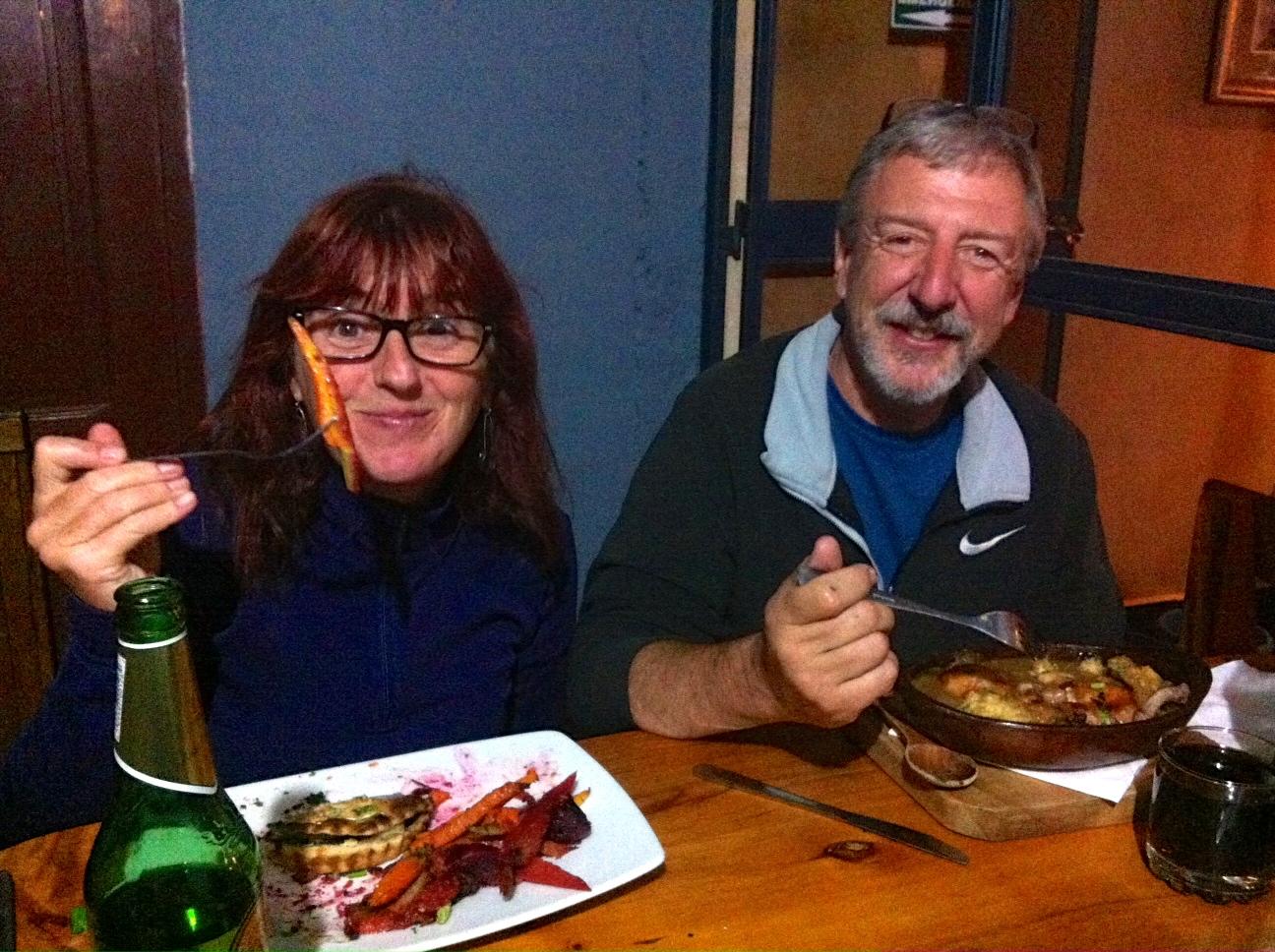 Vilcabamba has some delicious, cheap restaurants.