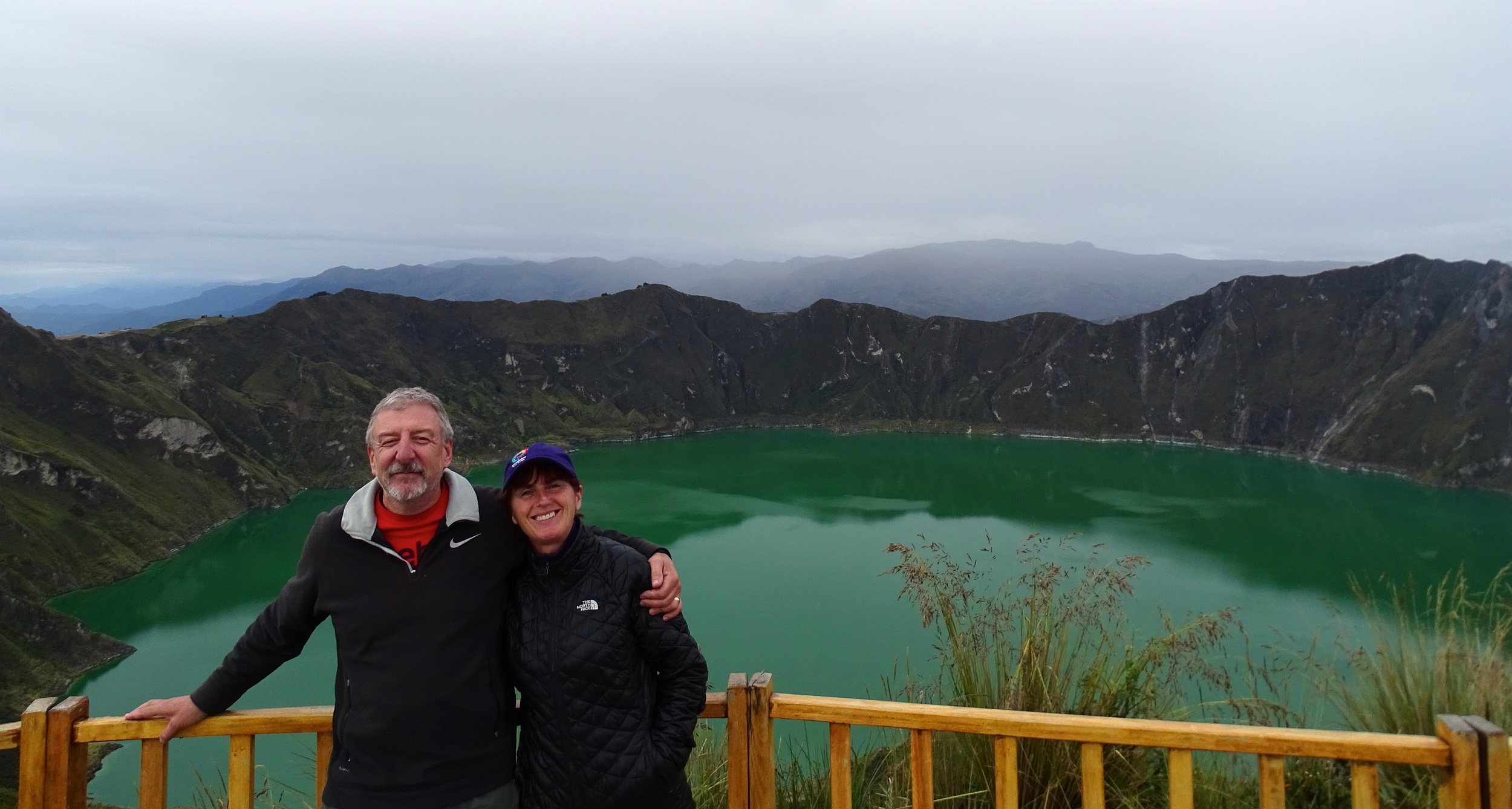 Quilatoa Crater Lake