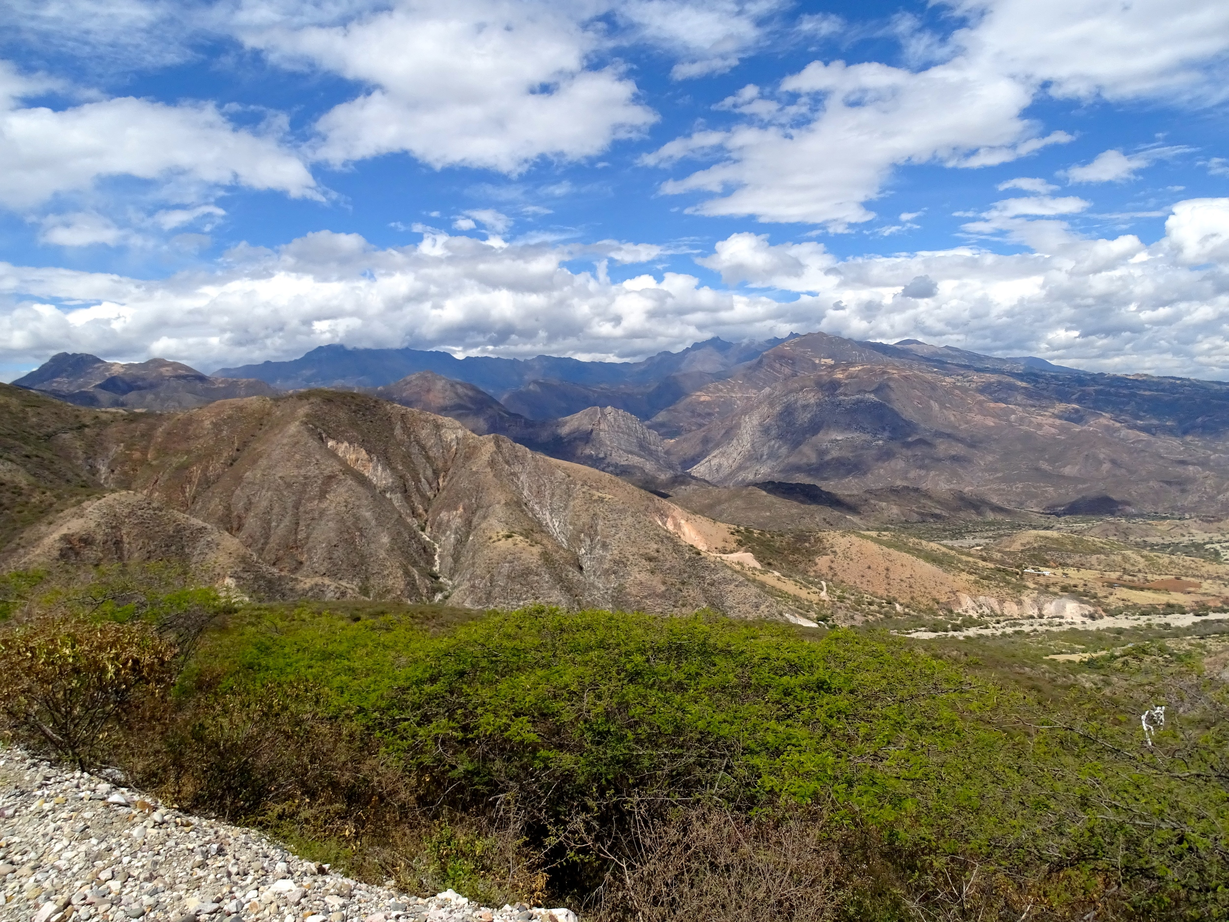 More magnificent Andes Mountains!