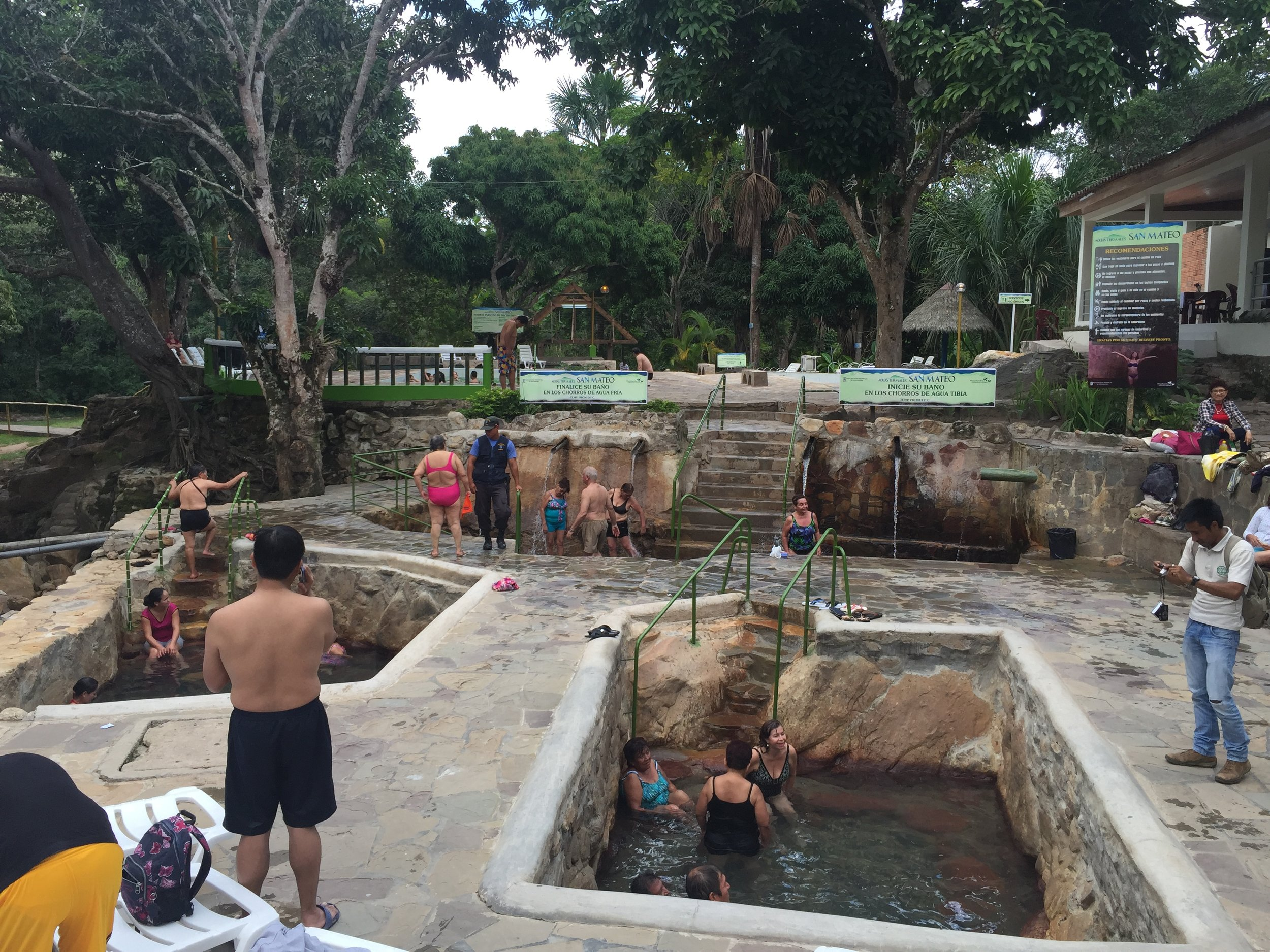 Jalene's trip to the local hot spring pools!