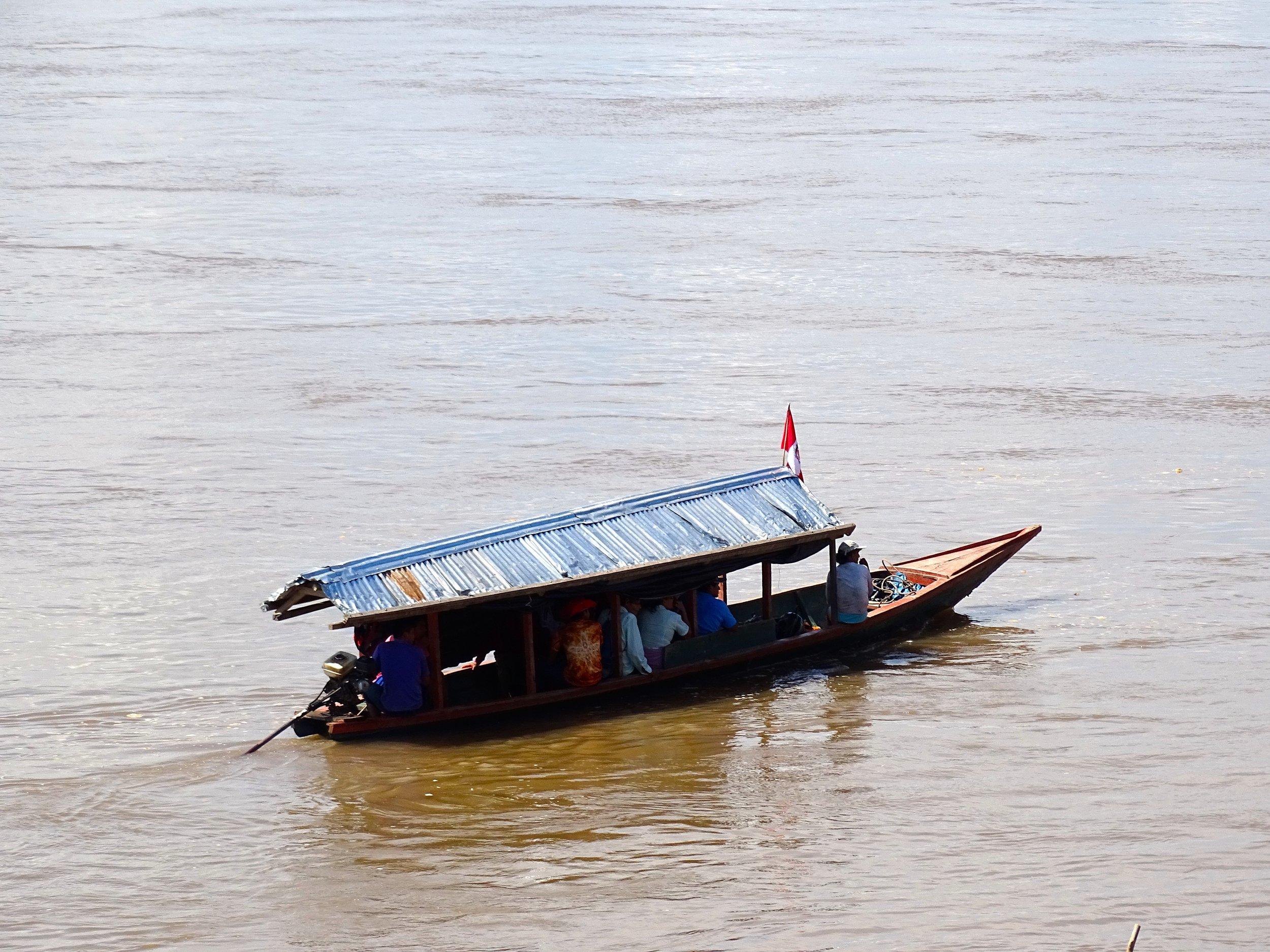 Local river taxi service.
