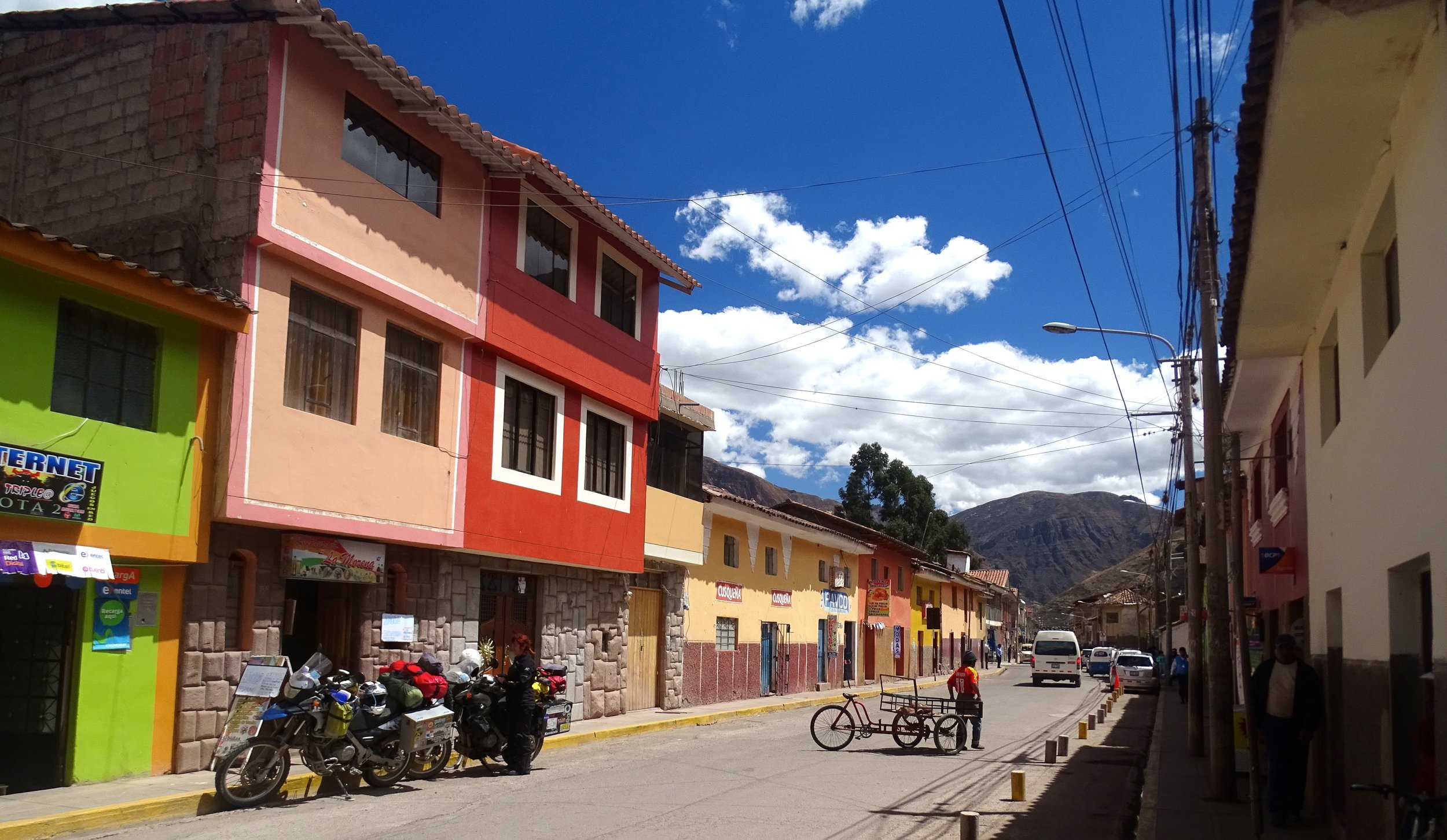 On the way up to Ollantaytambo, the town of Pisac is a great spot to stop for a good lunch.