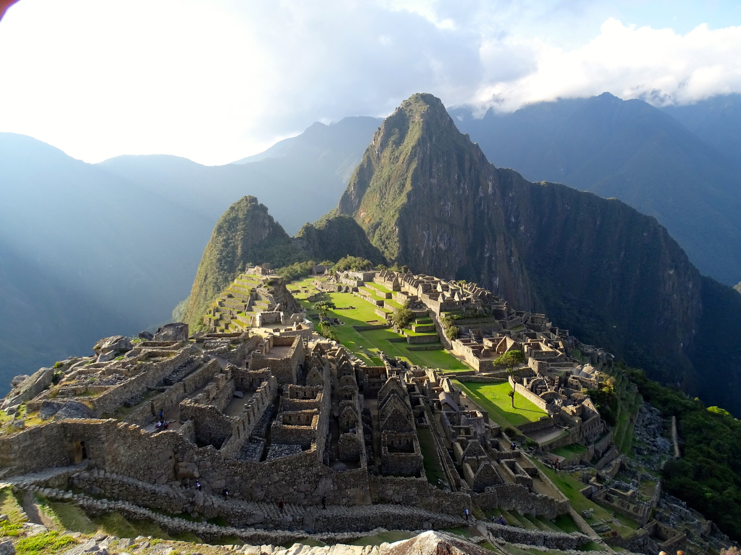 And the classic view of Machu Picchu emerged!