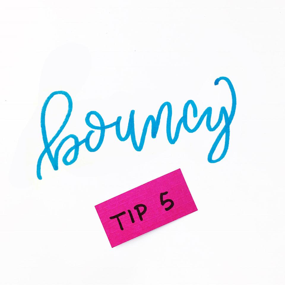 31 Lettering tips for beginners. Tip 5