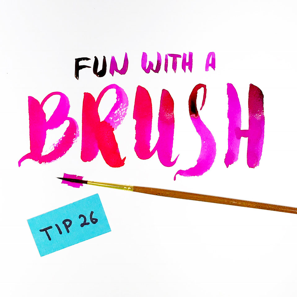 31 Lettering tips for beginners by @twoeasels