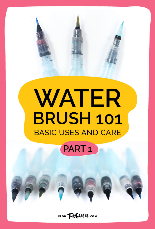Water brush 101 Basic uses and care Part 1