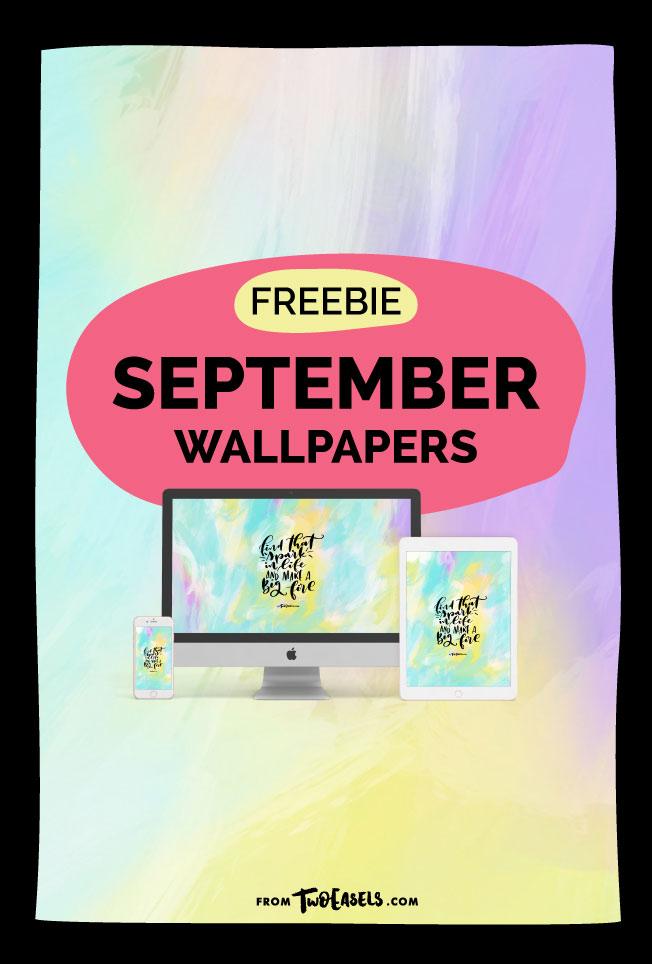 Free September wallpaper by @TwoEasels