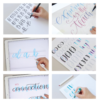 kickstart your lettering online course