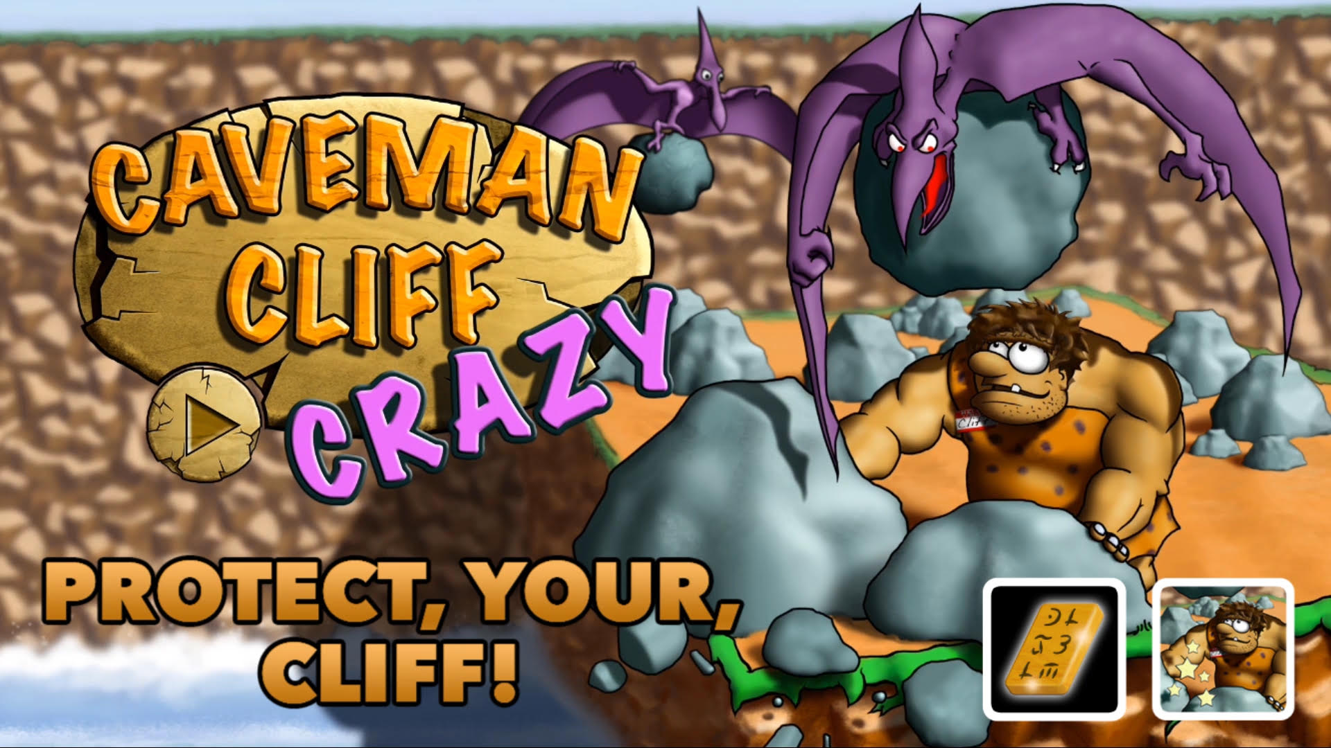 Caveman Cliff CRAZY 1