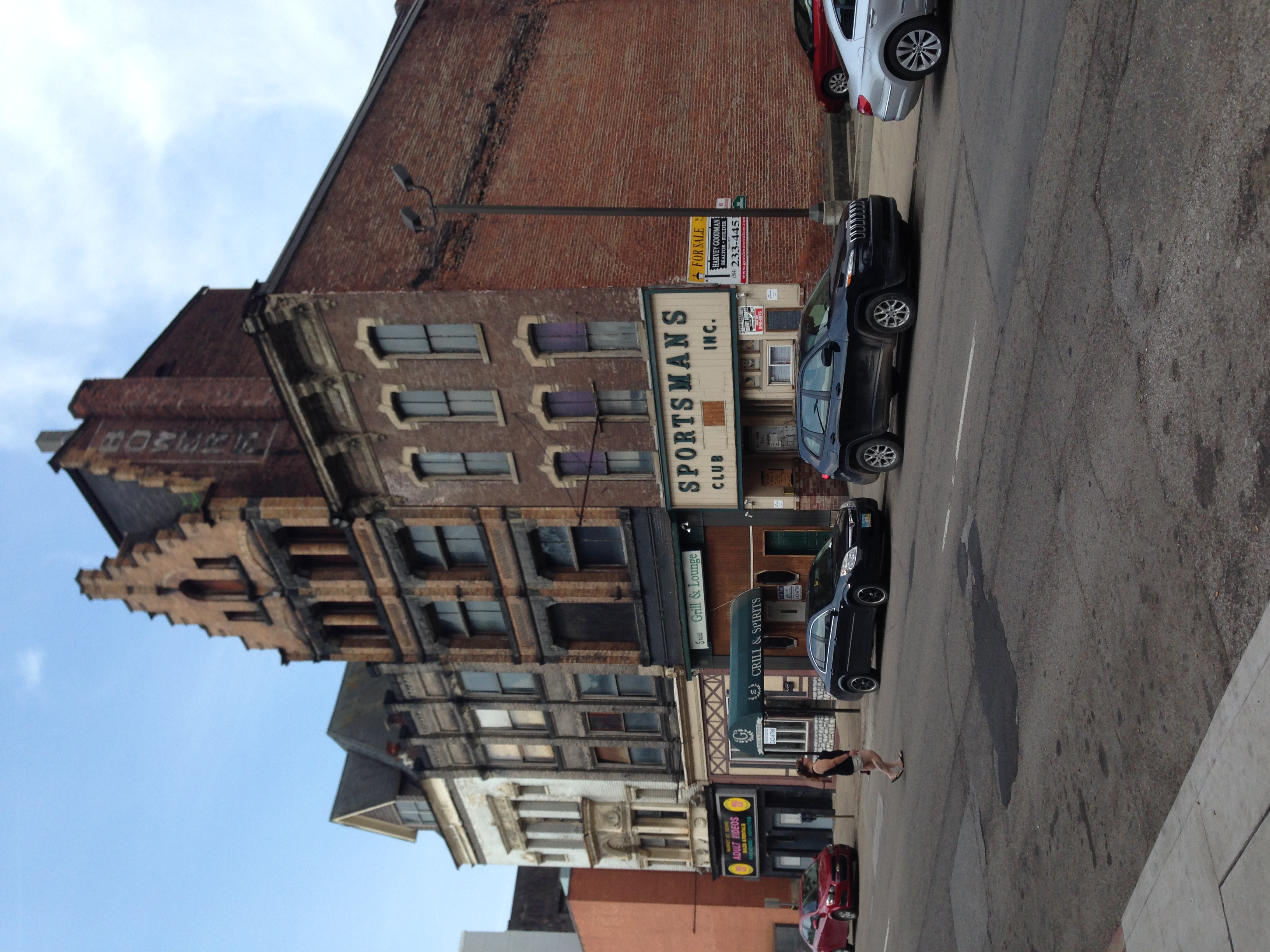 Historic buildings on the 1400 block of Market Street are in urgent need of repairs to preserve the structures and make them available for future development.
