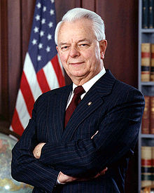 U.S. Sen. Robert C. Byrd had a profound influence on Elliott.