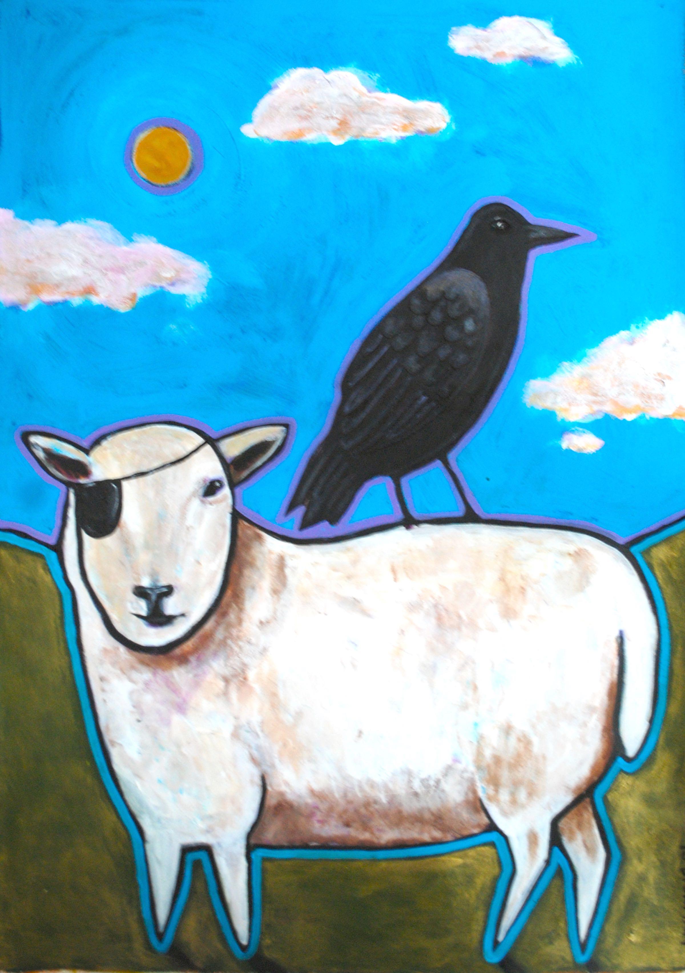 Crow and Sheep