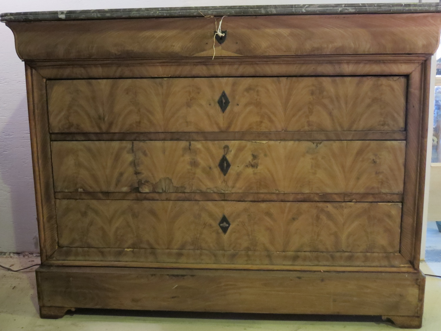 Louis Philippe Chest Weathered Finish