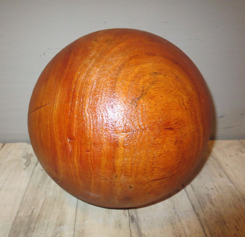 Decorative Wooden Sphere (3)