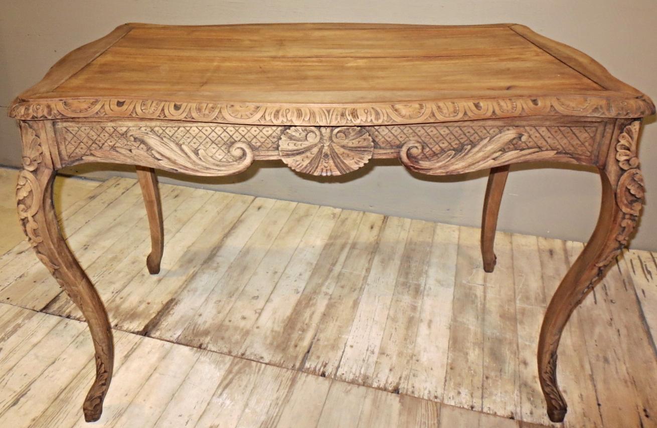 Louis XV Oak Table