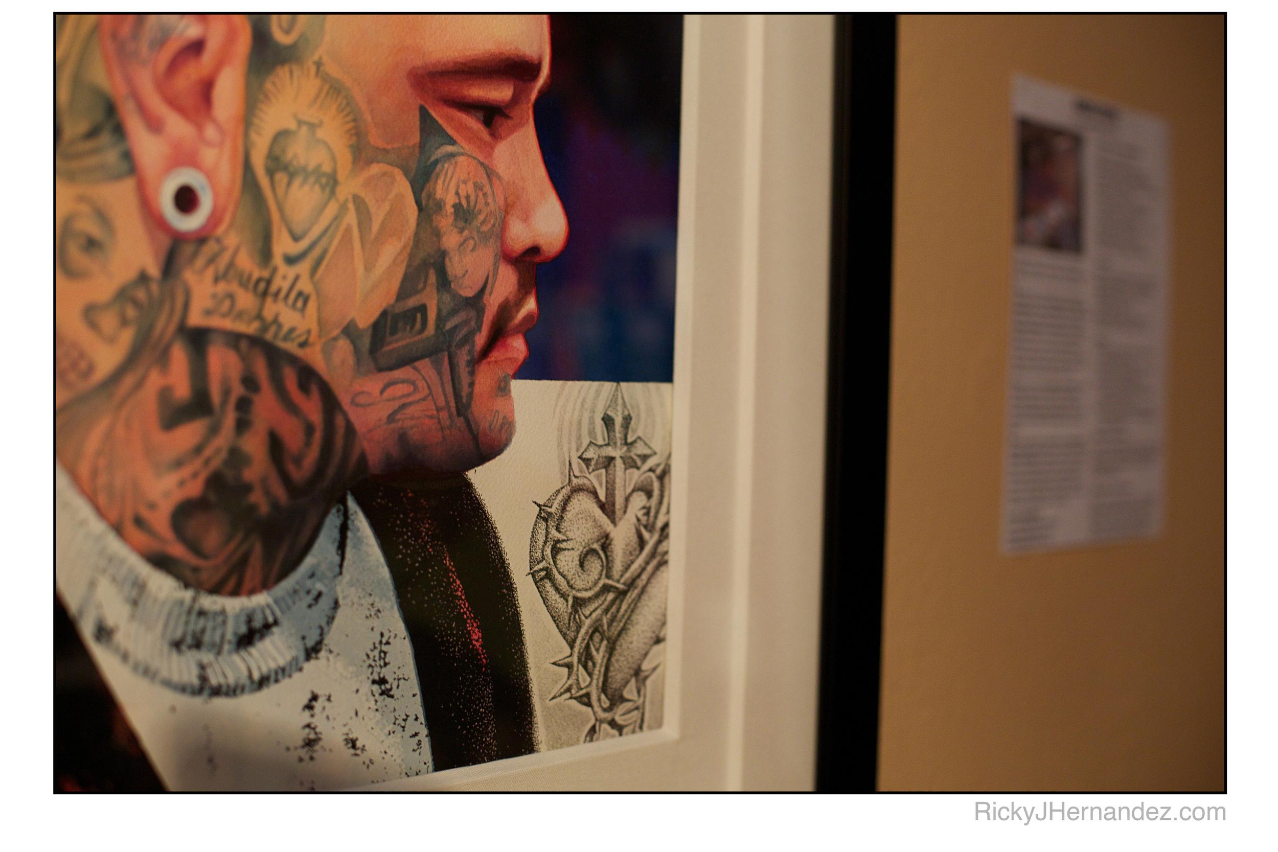 Photos of Gregg Stone Solo Show at Laguna Art walk in Laguna Ink