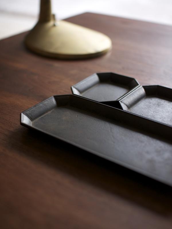 Futagami / Oji Masanori / stationery set vassoi ufficio cucina ottone fonderia giapponese / Spazio Materiae Napoli