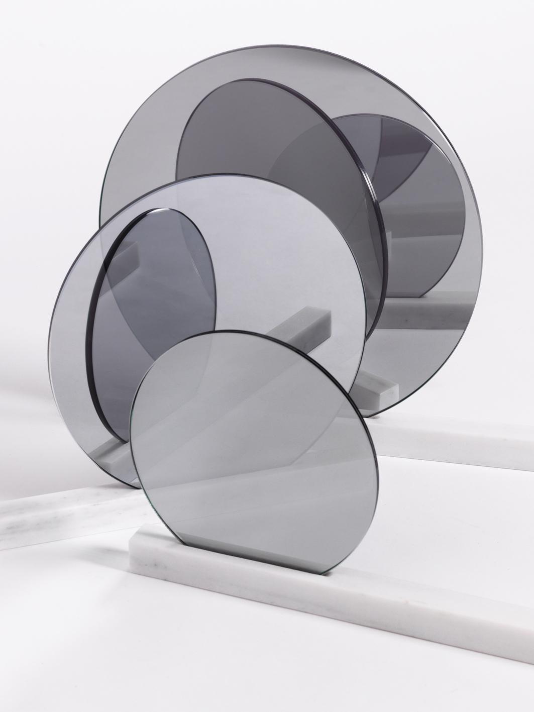 See Right Through Me Specchio   Marmo di Carrara e Specchi   Minimal Design  Isabell Gatzen   Spazio Materiae   Napoli