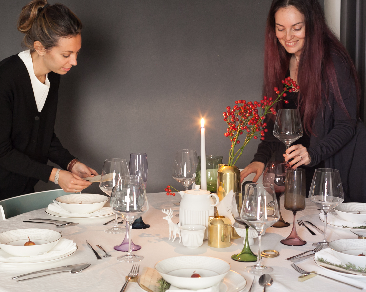 SET THE TABLE STYLING EVENTO SPAZIO MATERIAE NAPOLI FORME DI FARINA TAVOLA NATALE PHOTO (1 di 6).jpg