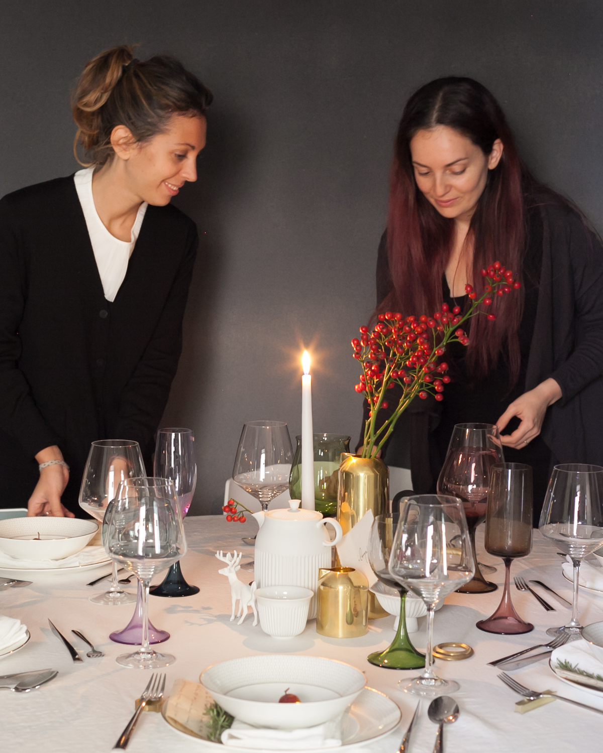 SET THE TABLE STYLING EVENTO SPAZIO MATERIAE NAPOLI FORME DI FARINA TAVOLA NATALE PHOTO (2 di 6).jpg