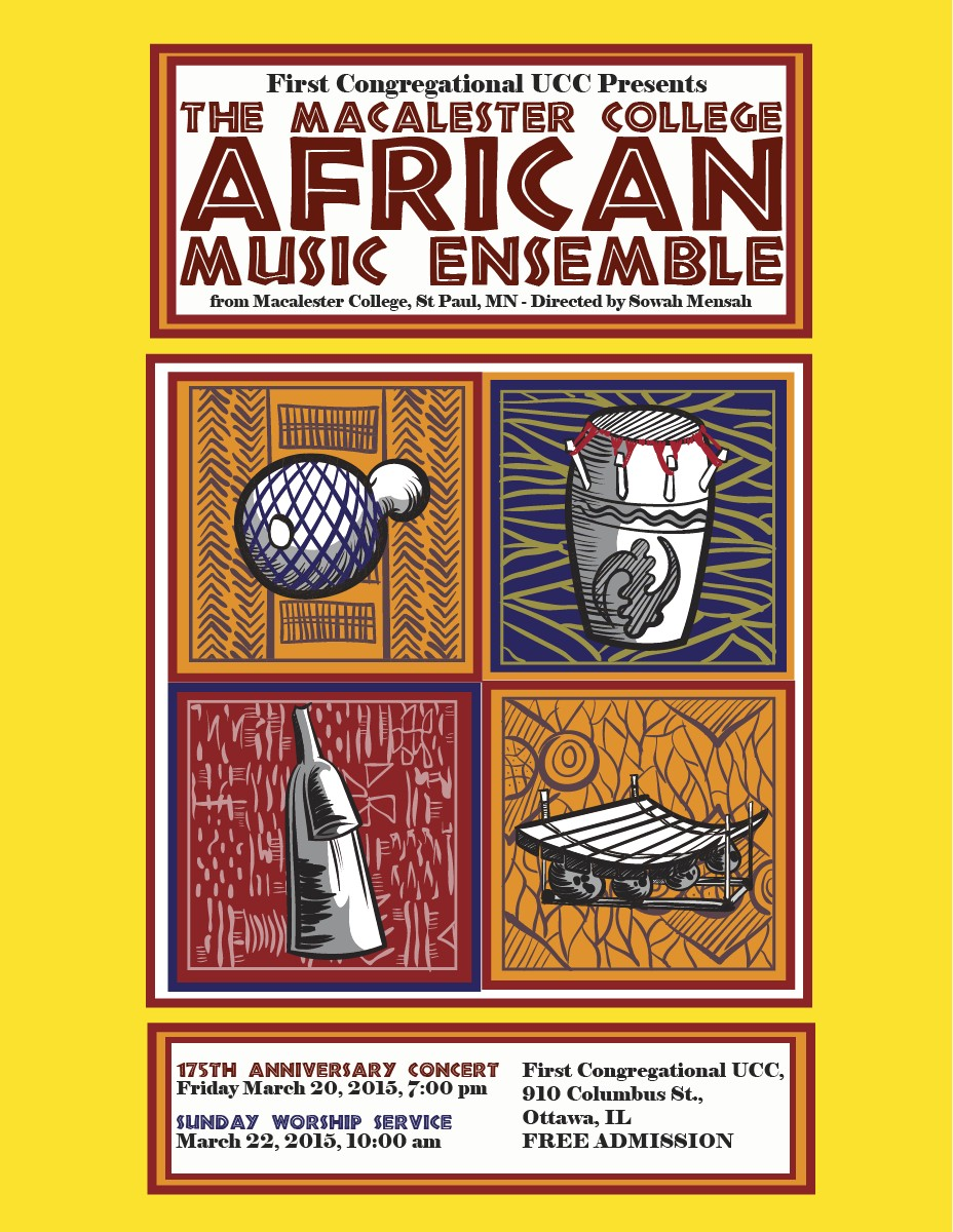 Macalester College African Music Ensemble Concert