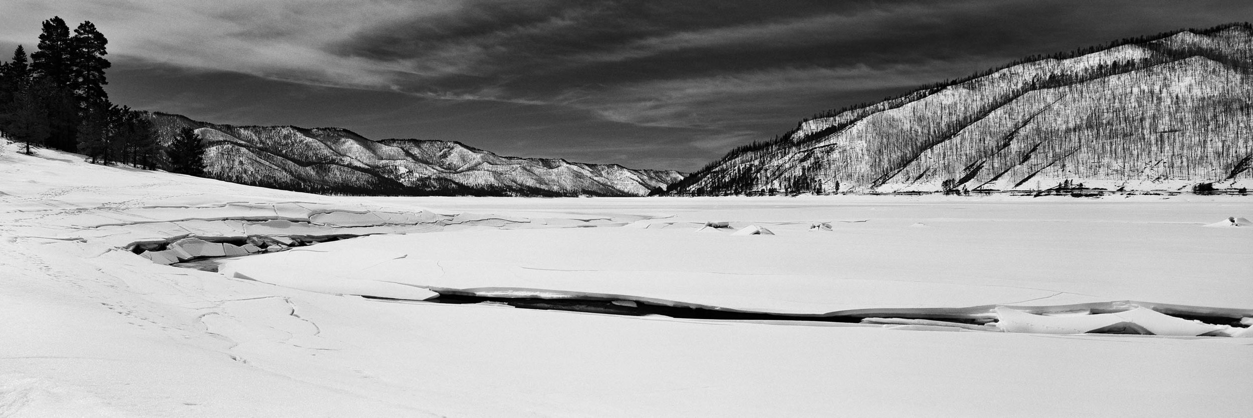 Vallecito Lake, CO- Winter