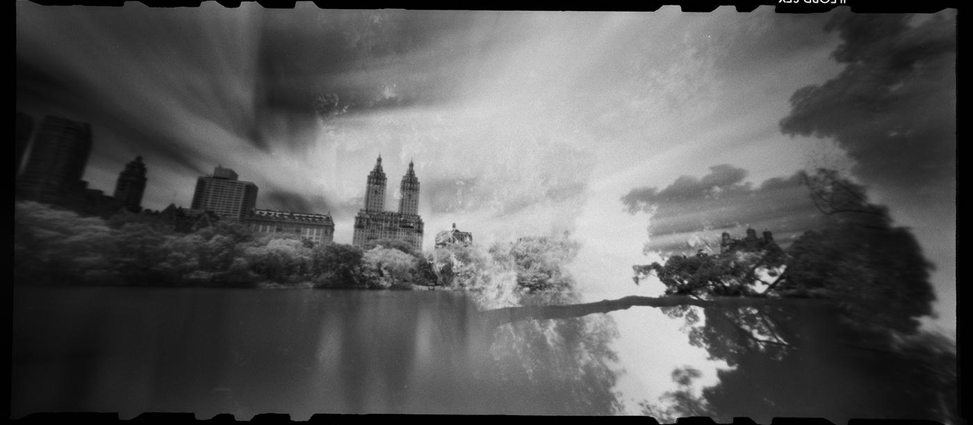 Central Park Double Exposure