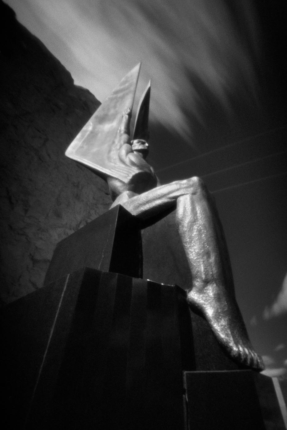 Angel at the Hoover Dam