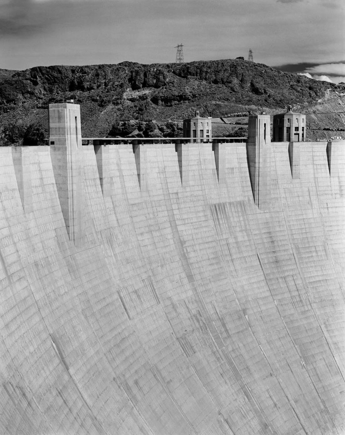 Face of the Hoover Dam