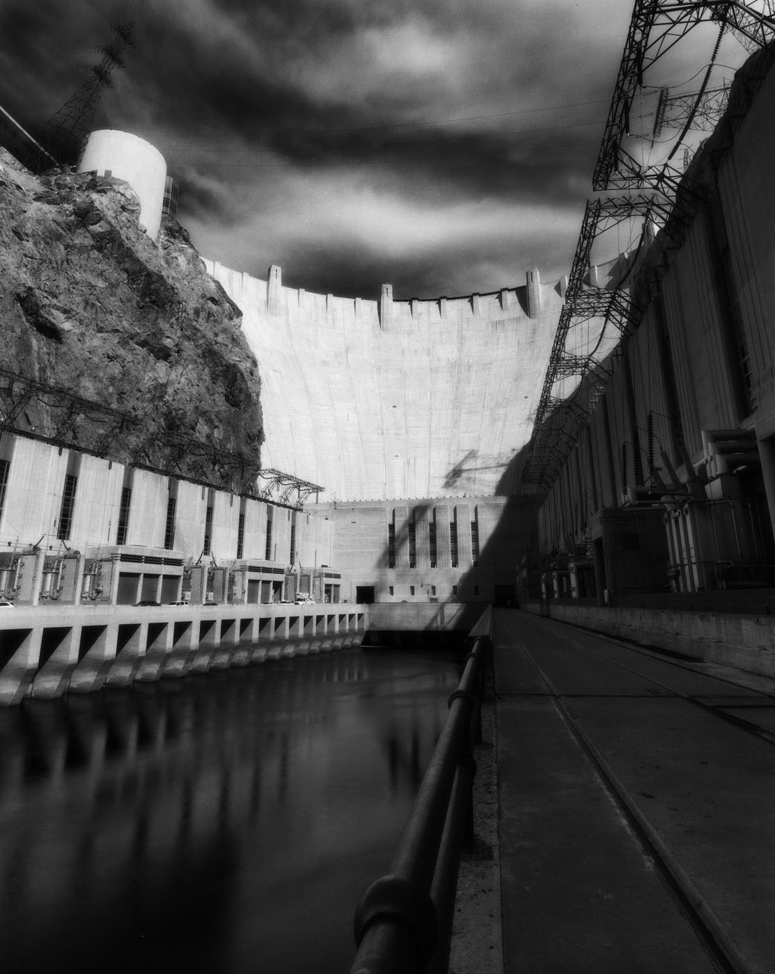 Ramps at the Hoover Dam