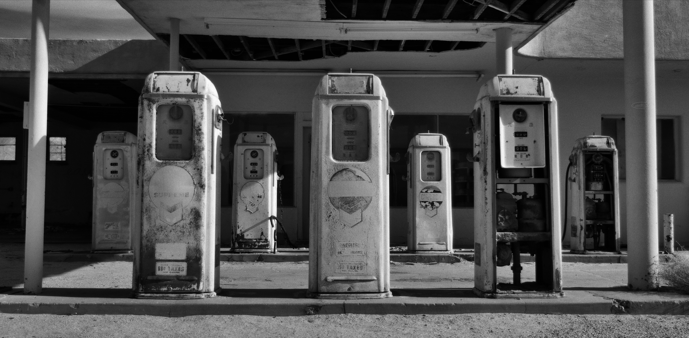 Desert Center Gas Pumps #1