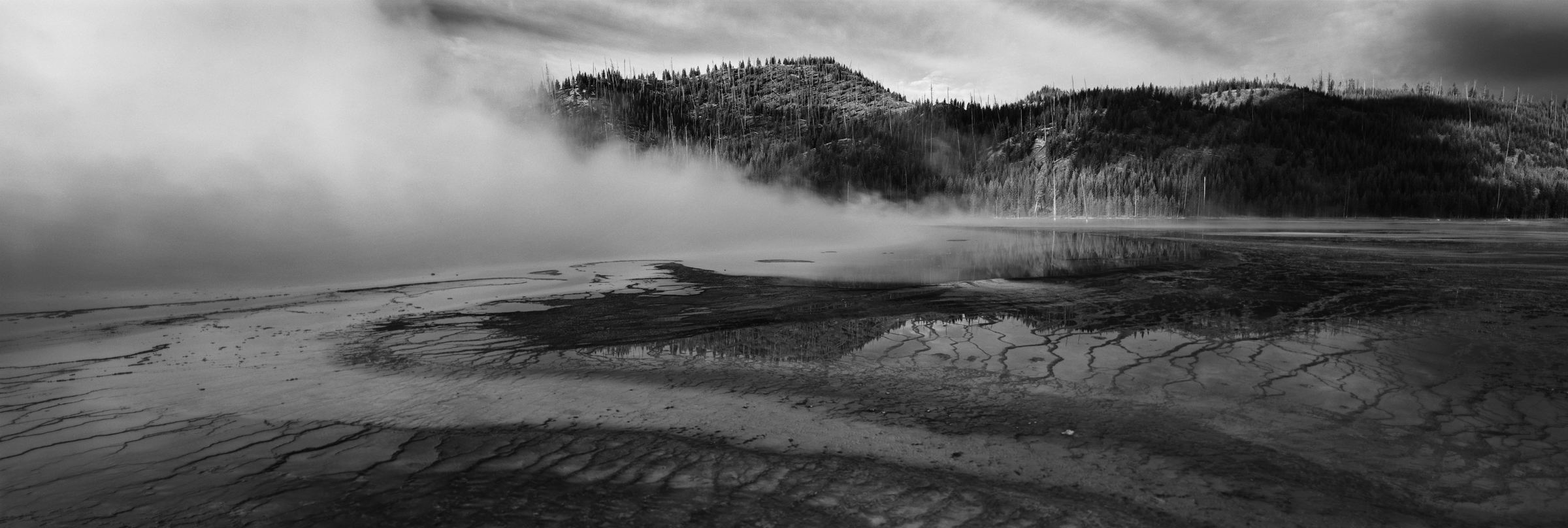 Yellowstone National Park- Prismatic Pool, Wyoming